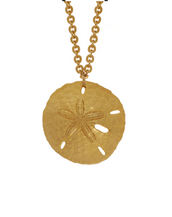 Sand Dollar Medium Disc Necklace