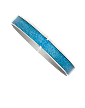 Celestial Blue Stardust Medium Bangle