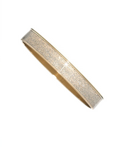 Goldtone Stardust Medium Bangle
