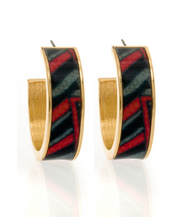 MAYA™ Abstract Art Hoop Earrings