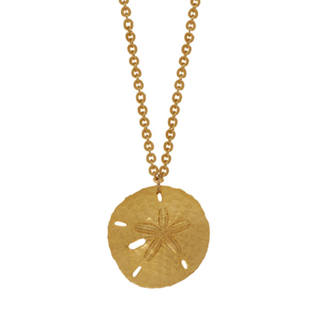 Sand Dollar Small Disc Necklace