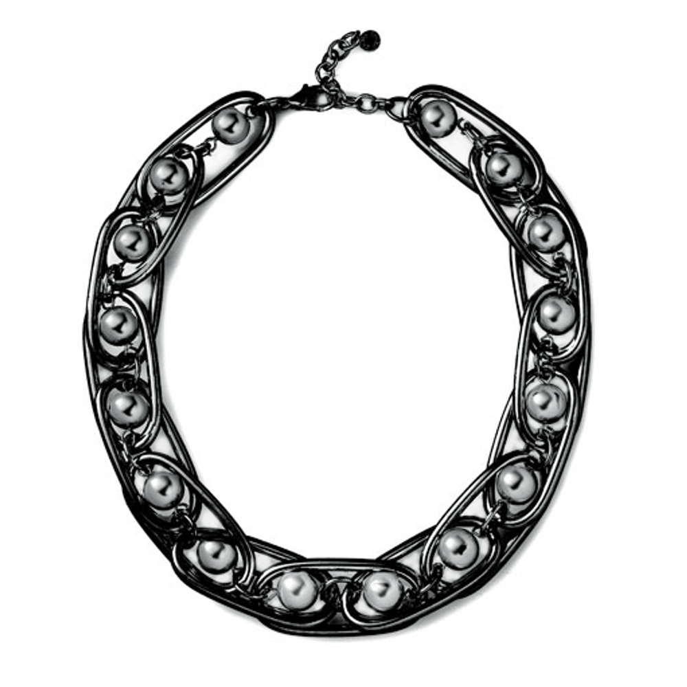 Excelsior Hematite Collar Necklace
