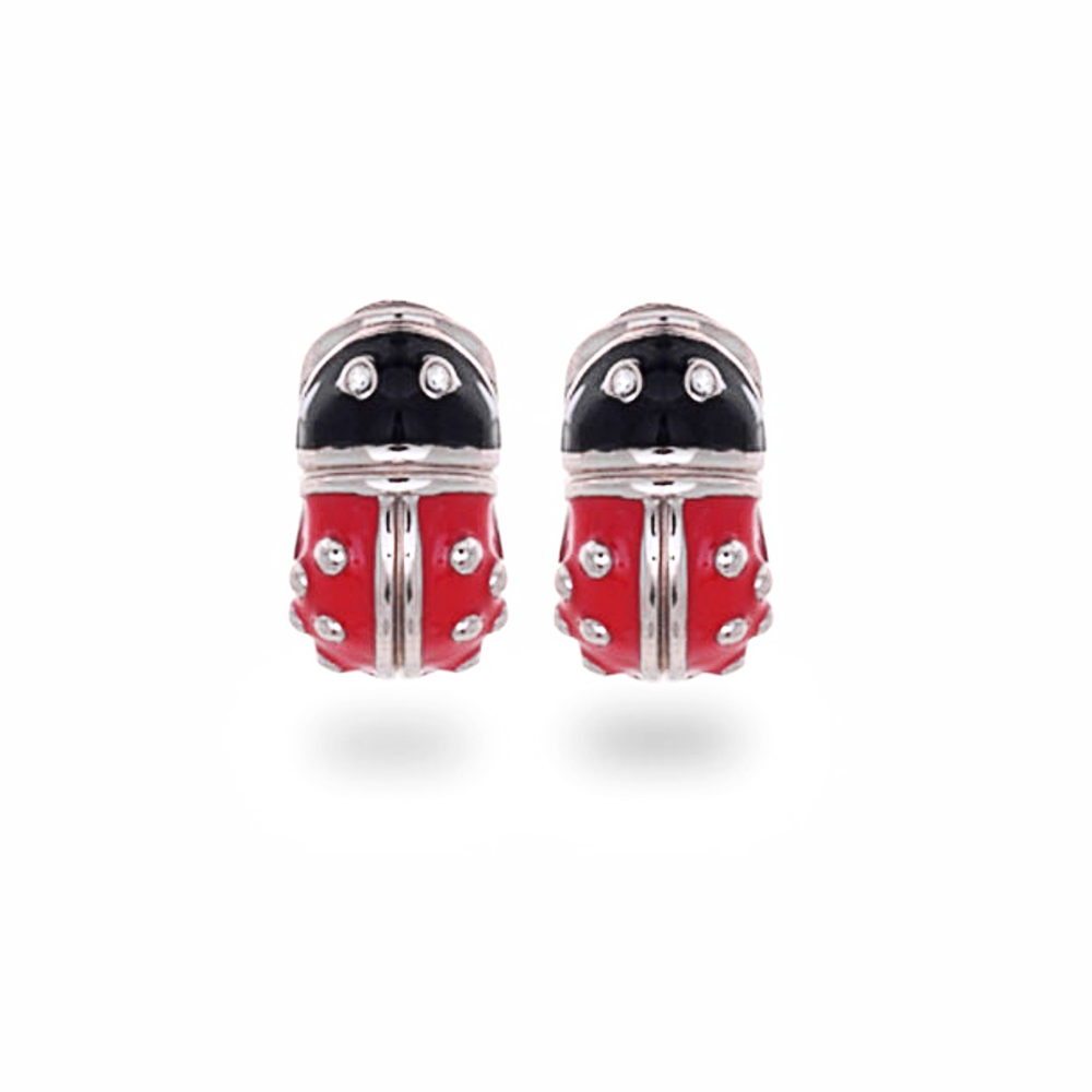 Lady Bug Enamel Reversible Hugs®
