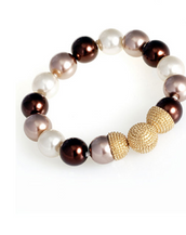 Brown 16mm Caviar Magnetic Attractions™ Bracelet