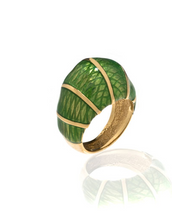 Snakeskin Green Ring