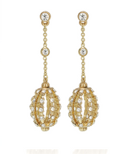 Goldtone Chandelier Drop Earring