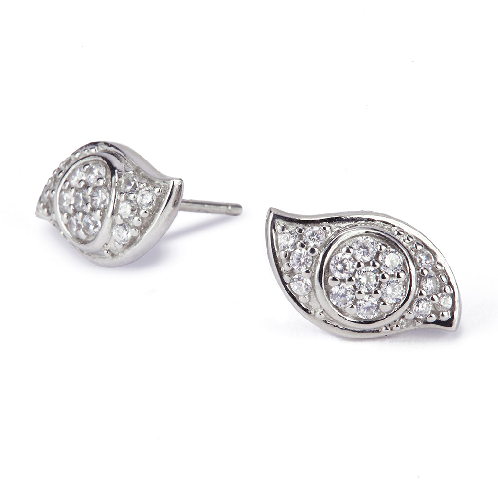 Evil Eye Earrings - Lucky Look of Diamonds™