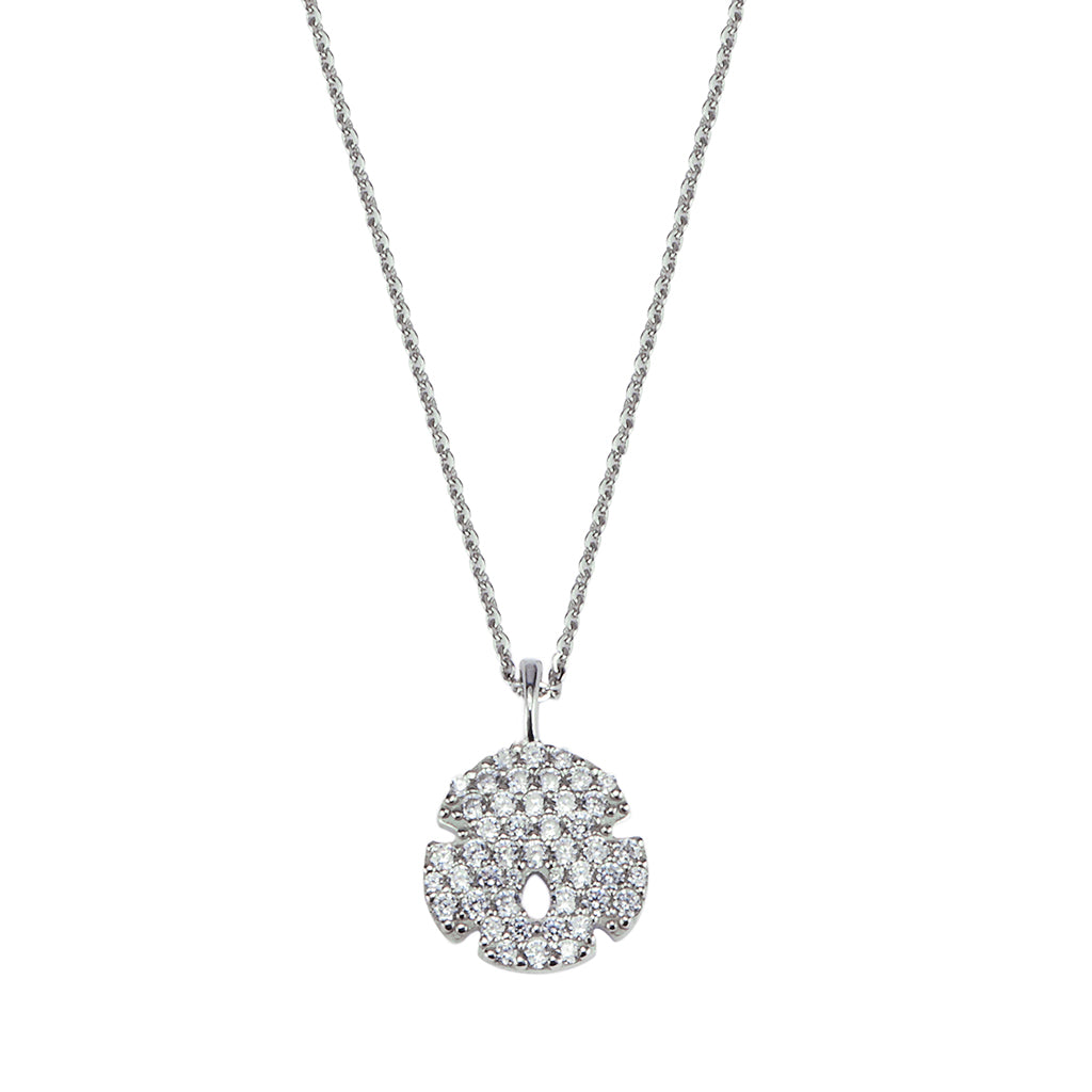 Sand Dollar Pendant - Lucky Look of Diamonds™