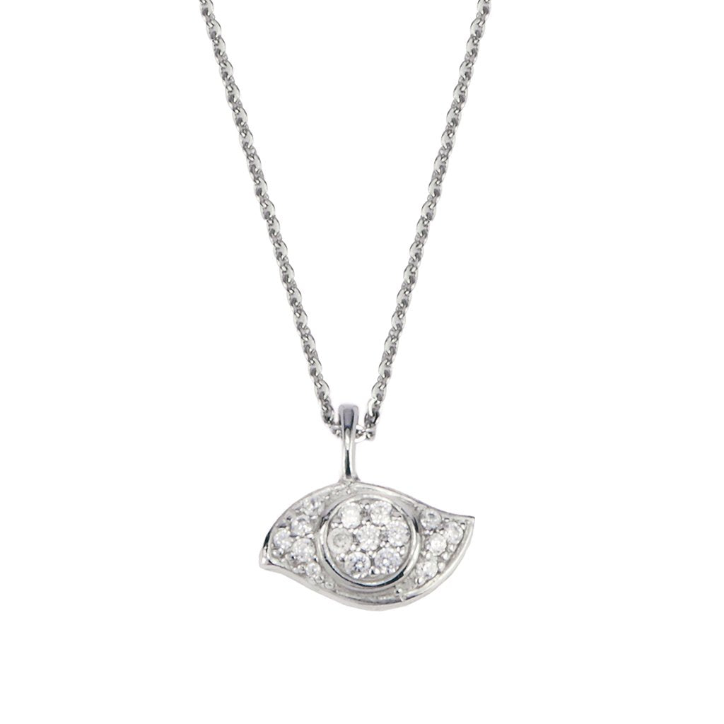 Evil Eye Pendant - Lucky Look of Diamonds™