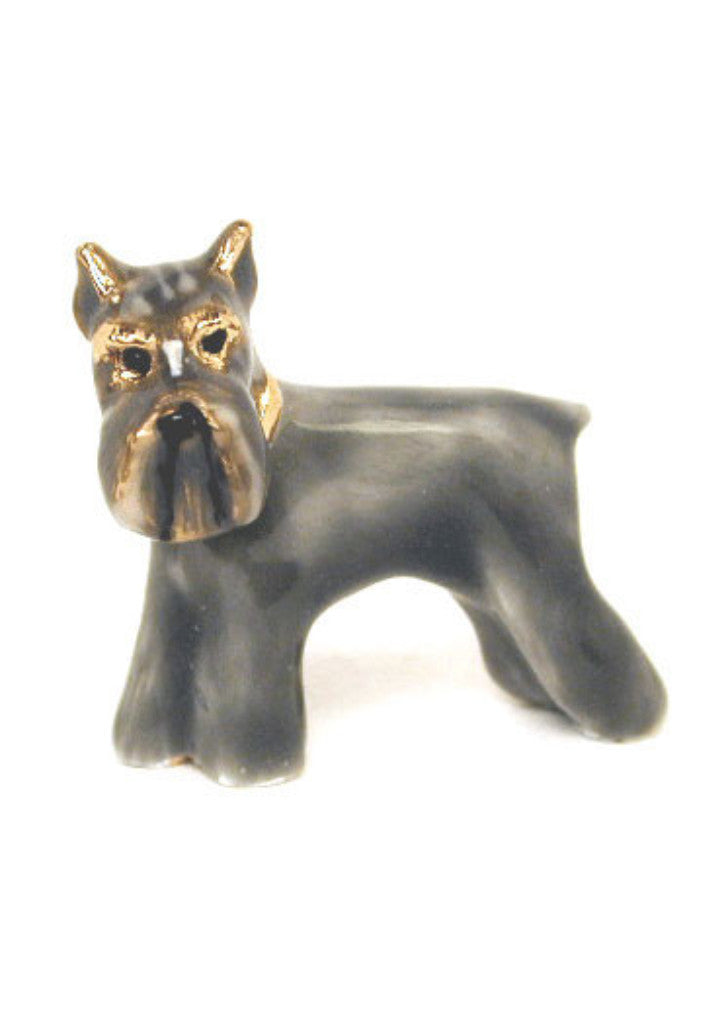 Gray Schnauzer Adorable Pooch ® Pin