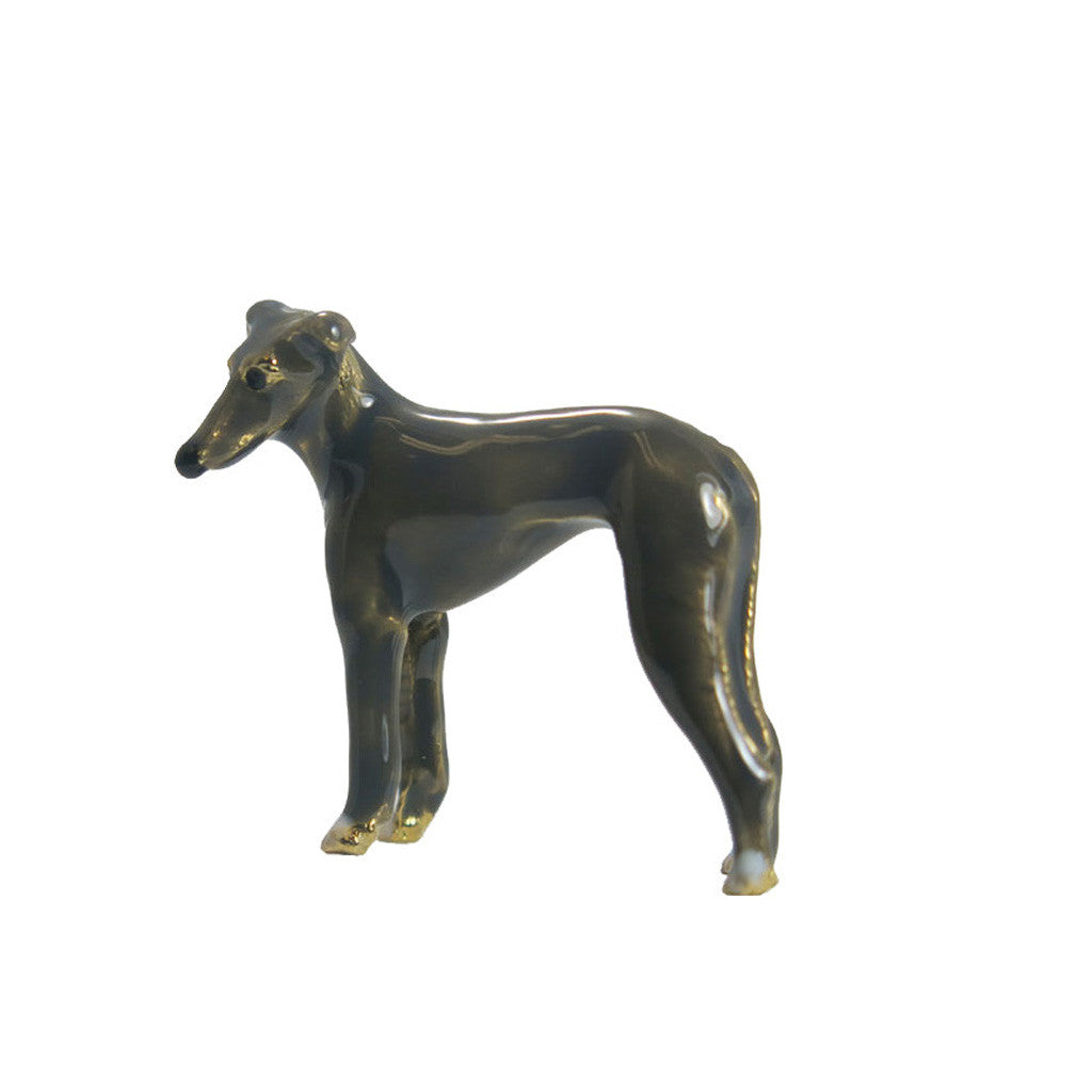 Gray Greyhound Adorable Pooch ® Pin