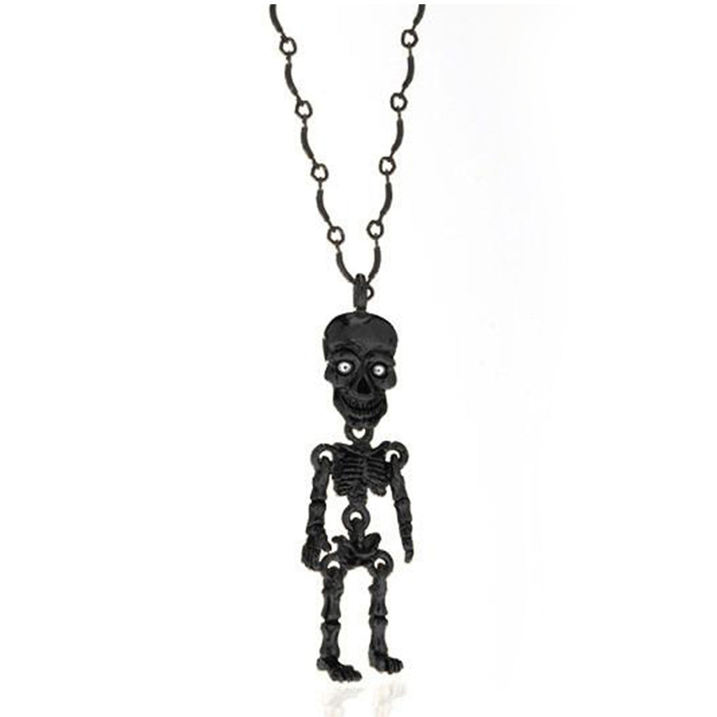 Hematite skeleton pendant necklace erwin pearl hematite skeleton pendant necklace aloadofball Image collections