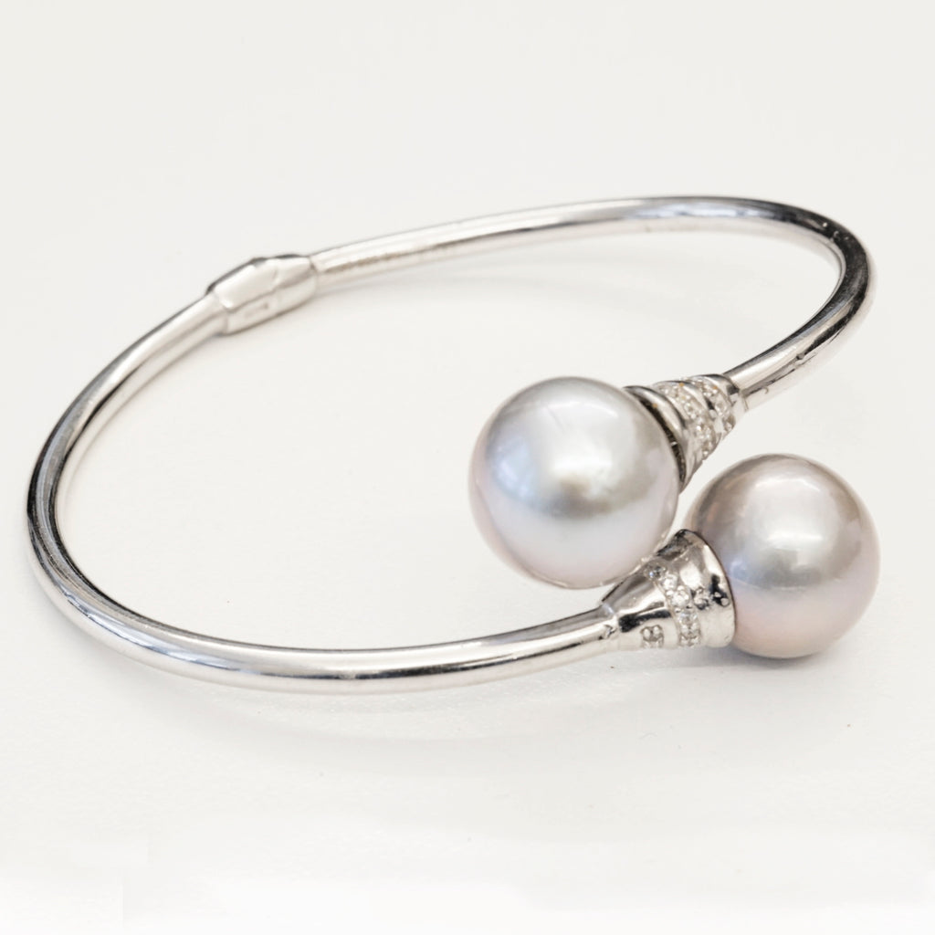 Sterling Silver Fresh Water Pearl Bracelet