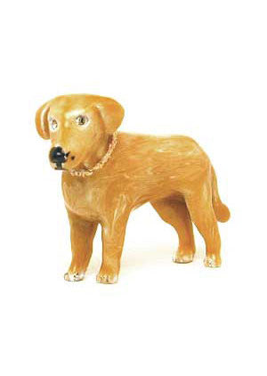 Light Brown Labrador Adorable Pooch ® Pin