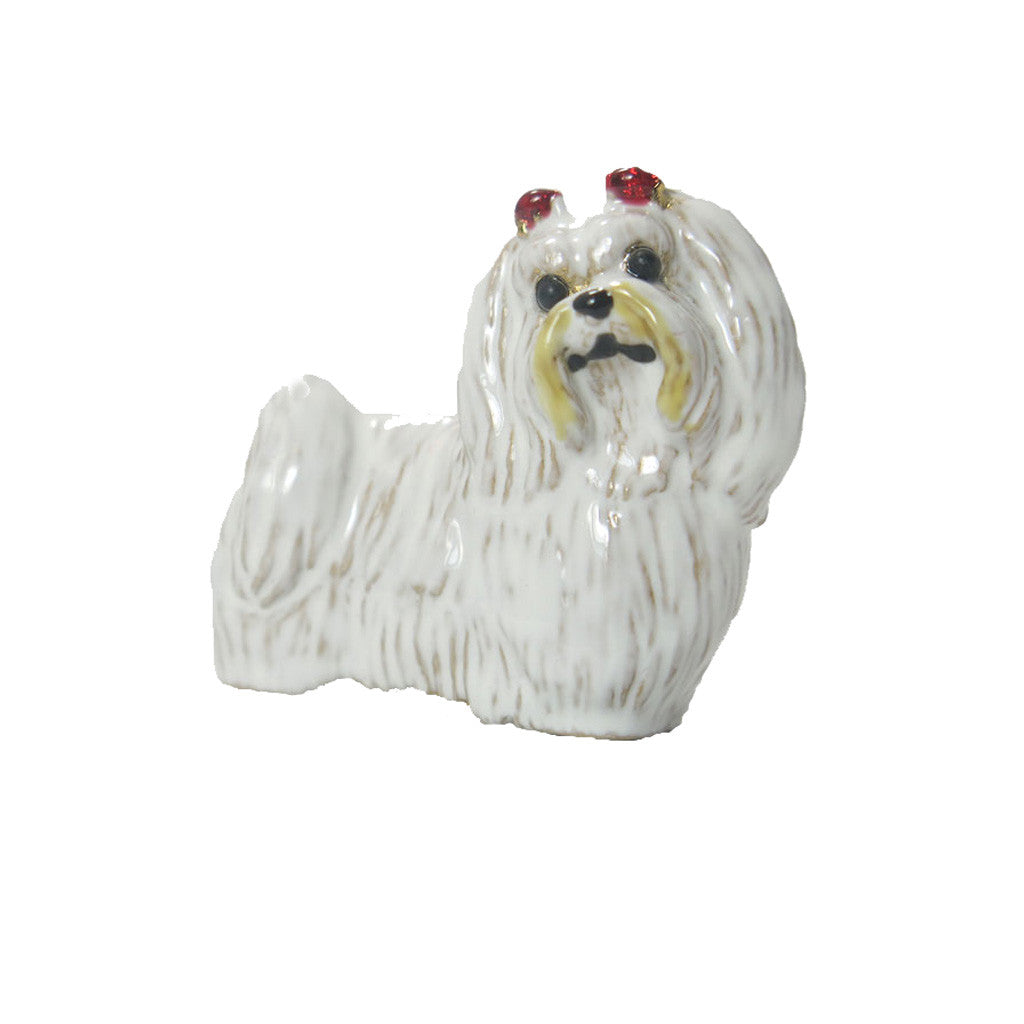 Maltese Adorable Pooch ® Pin