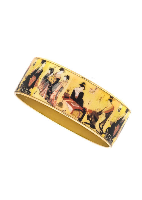MAYA™ Edo Courtesans Bangle Bracelets