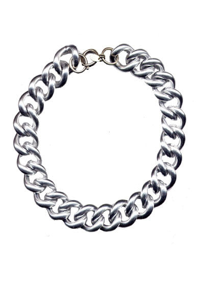 BRIDGET BOLD CURB CHAIN NECKLACE