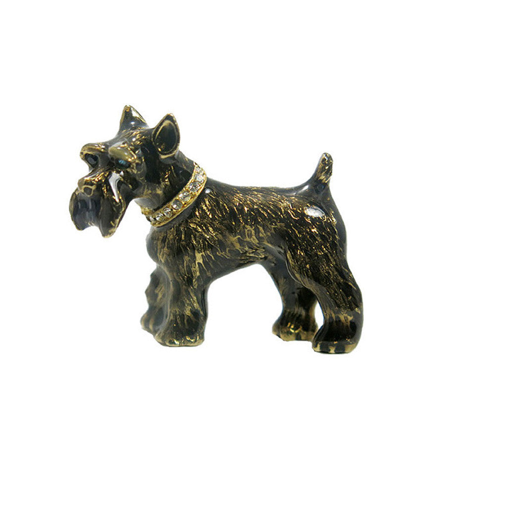 Black Scottish Terrier Adorable Pooch ® Pin