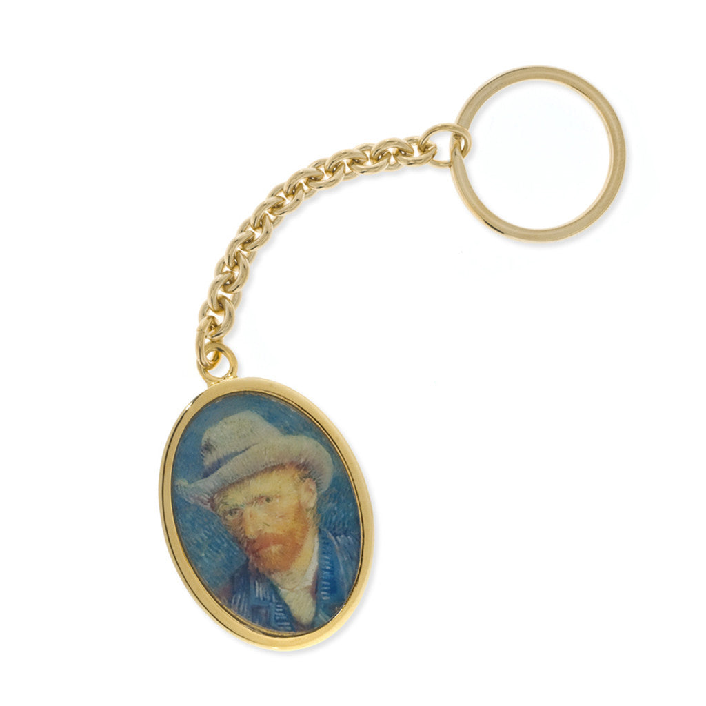 Van Gogh Self Portrait Keyring