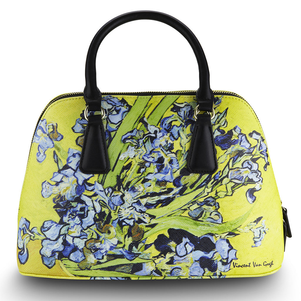 Van Gogh Irises Via Veneto Bag