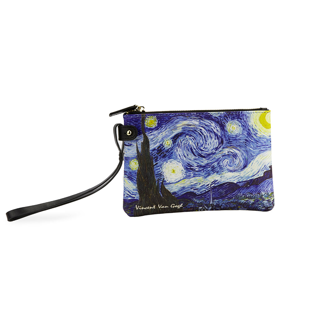 The Starry Night Van Gogh Clutch Bag