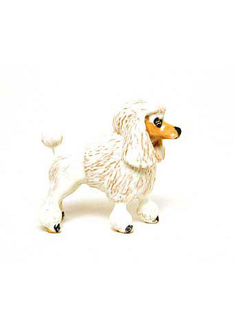 White Poodle Adorable Pooch ® Pin