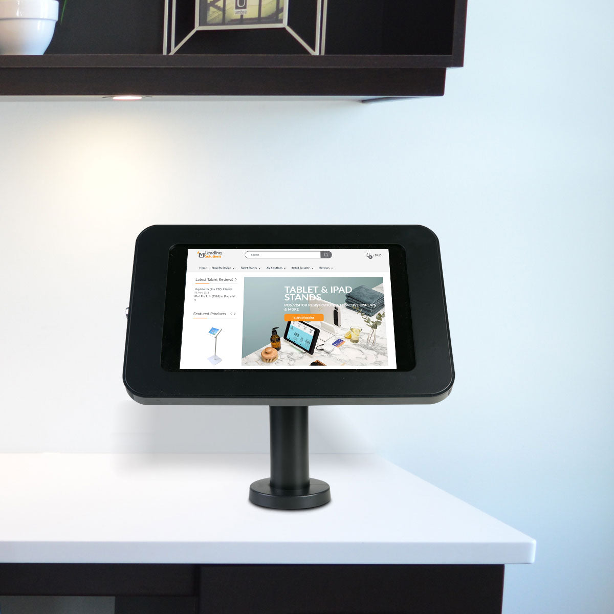 Tab Secure Desk Stand for iPads and Tablets