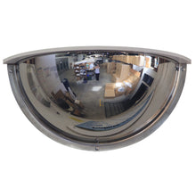 Stainless Steel Deluxe Half Dome Mirror