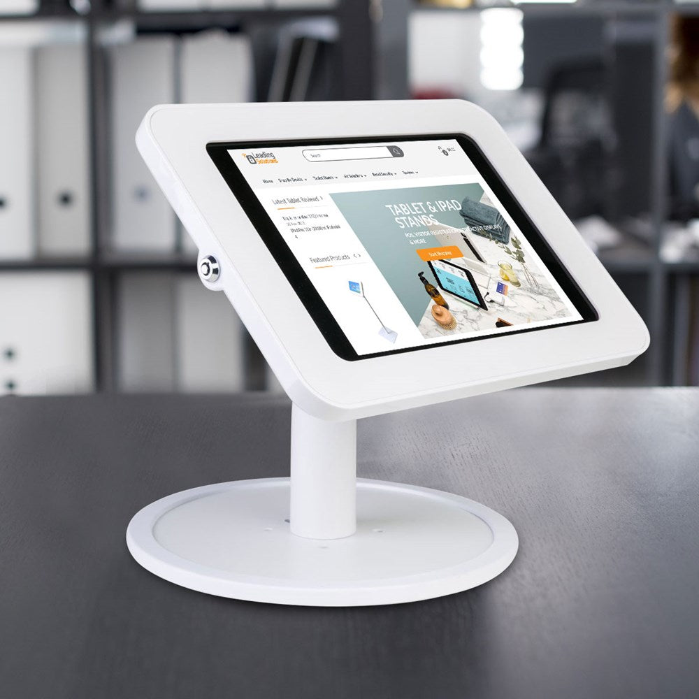 Tab Secure Desk Stand with Free Standing Base for iPads & Tablets