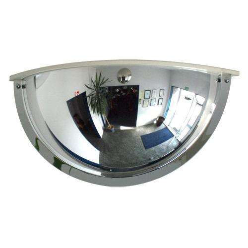 Indoor Half Dome Acrylic DeLuxe Mirror