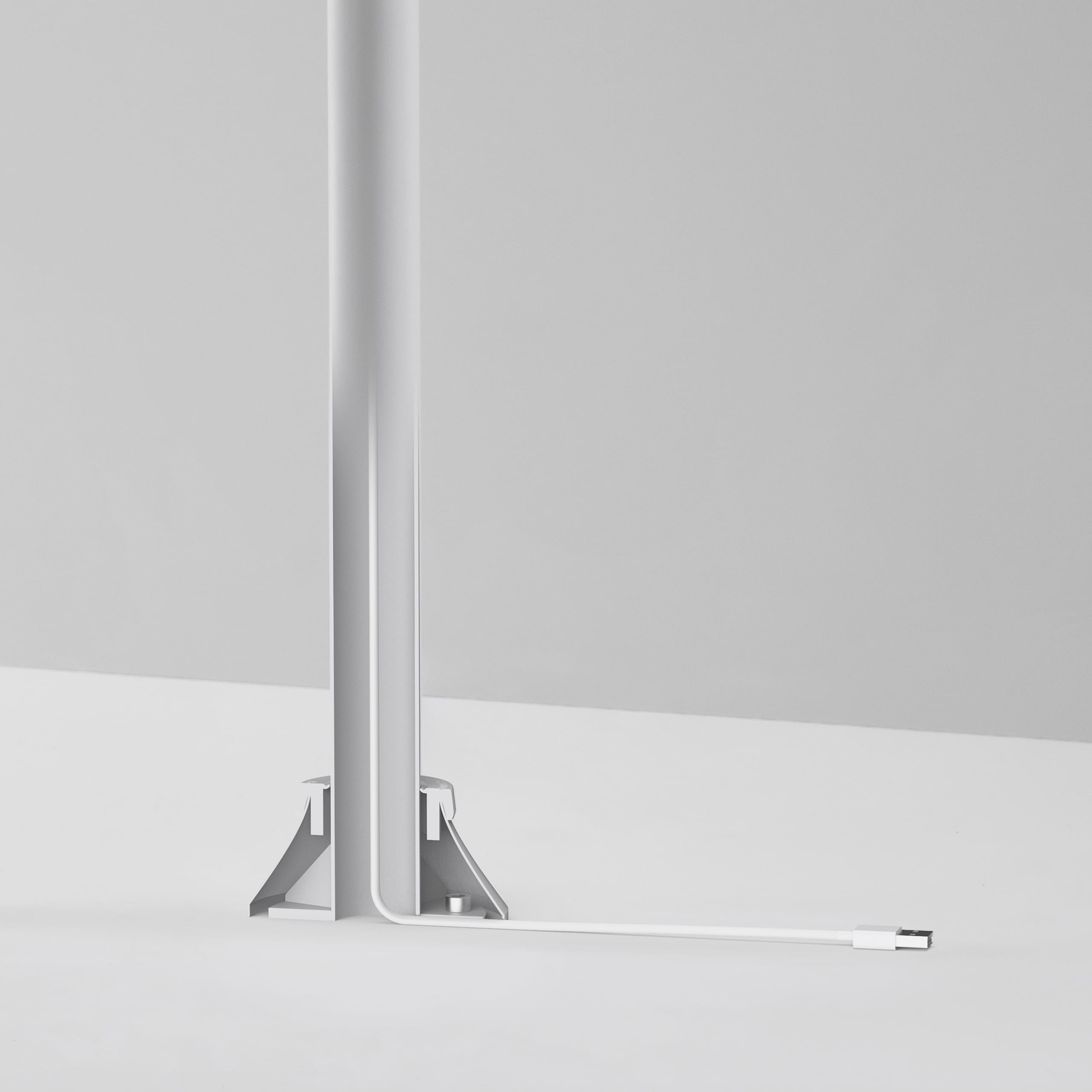 Bouncepad Slim, cables are hidden inside