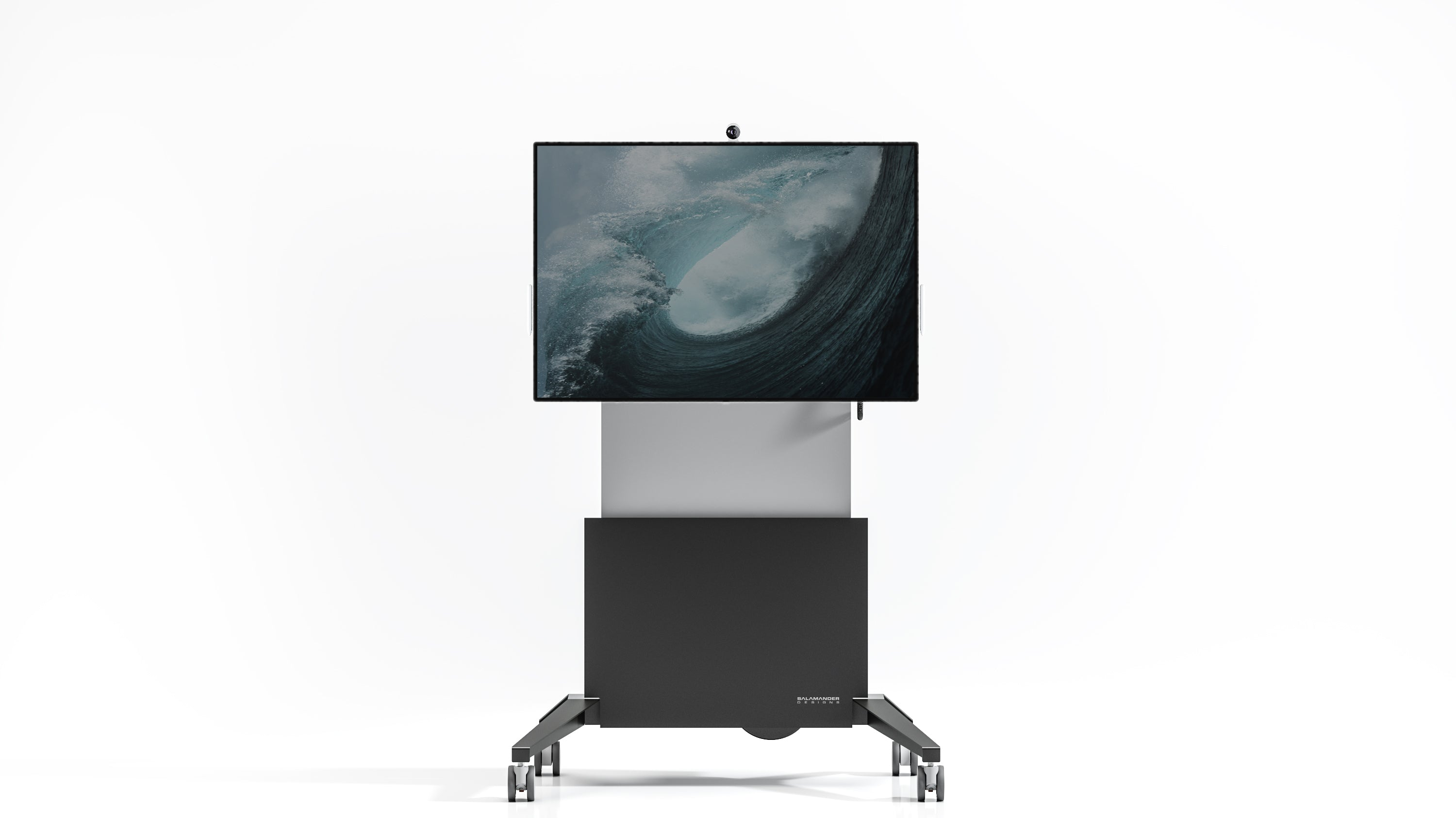 Electric Lift Mobile Cart for Microsoft Surface Hub 2s