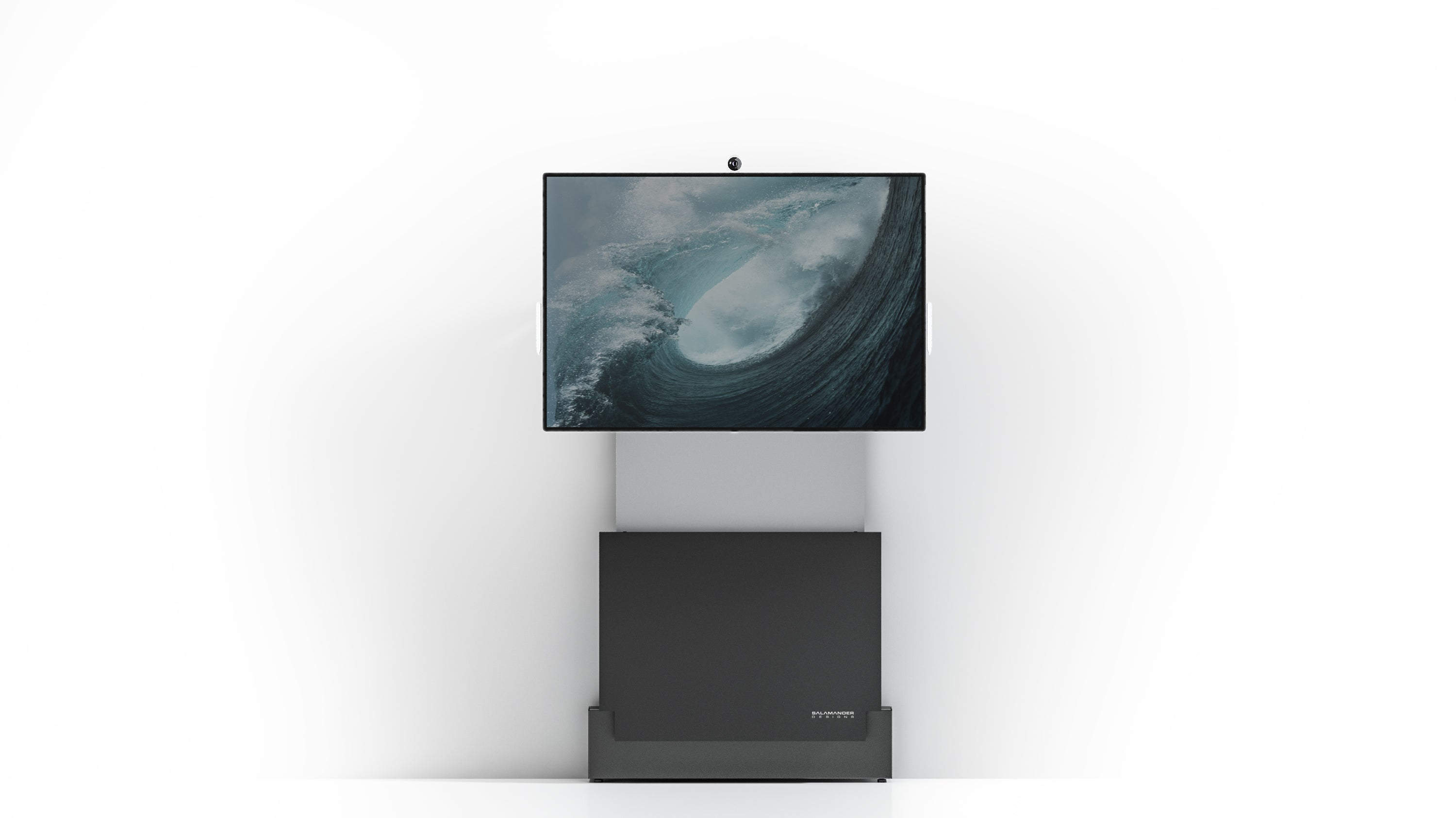 Electric lift Wall Stand for Microsoft Surface Hub 2s