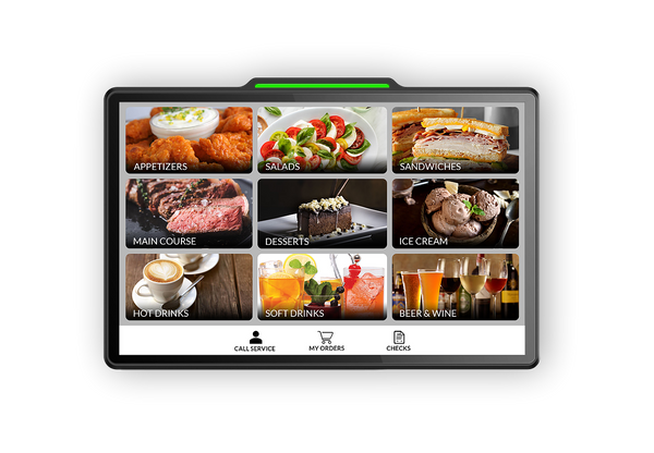 The Touch Panel is Perfect for POS and Self-ordering