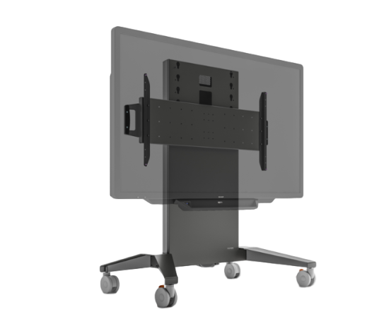 A range of fixed height carts for interactive displays and collaborative solutions