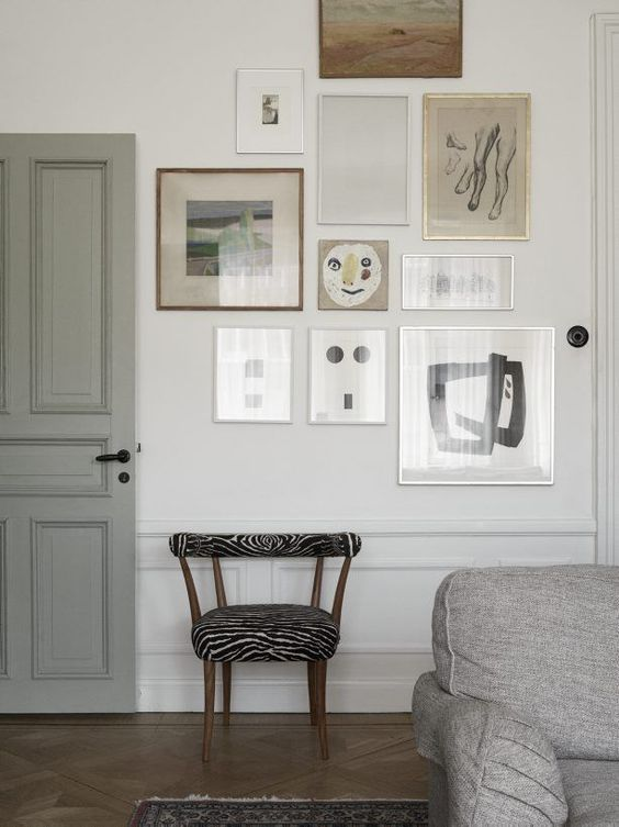 Neutral Gallery Wall | A Guide To Color and Collections