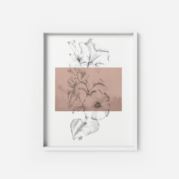 Botanical 1 - THE PRINTABLE CONCEPT - Printable art posterDigital Download -
