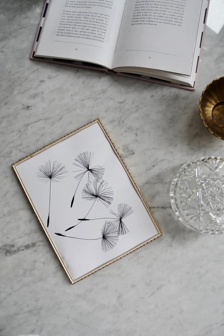 Dandelions is a photography Minimalist Wildflowers | Scandinavian printable art | Black and white modern blooms | Minimal art print | dandelion printable art