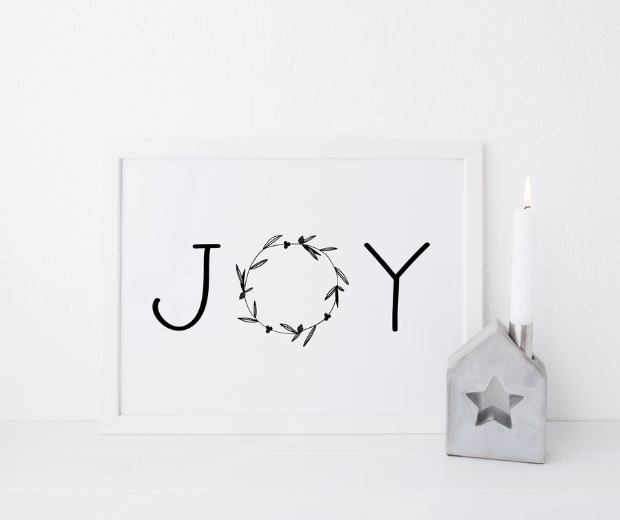 Joy - THE PRINTABLE CONCEPT - Printable art posterDigital Download -