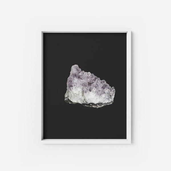 Amethyst 1 - THE PRINTABLE CONCEPT - Printable art posterDigital Download -