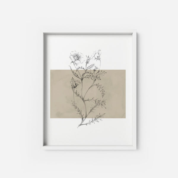 Botanical 4 - THE PRINTABLE CONCEPT - Printable art posterDigital Download -