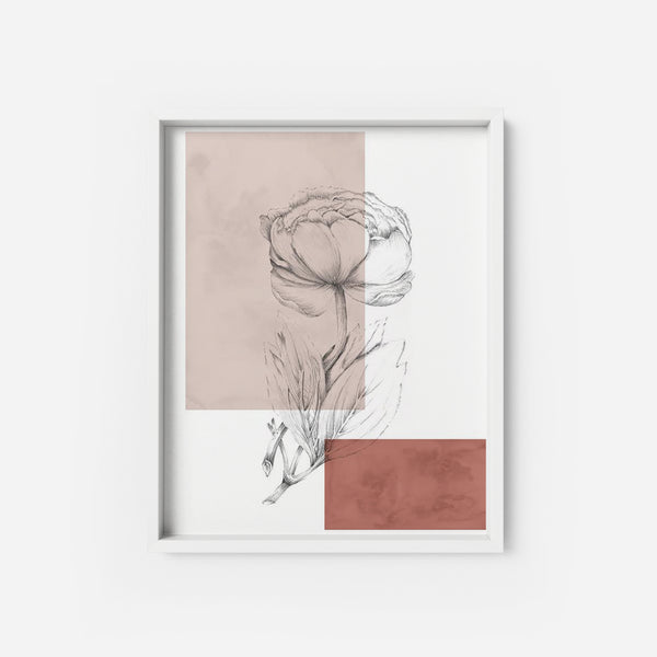 Botanical 5 - THE PRINTABLE CONCEPT - Printable art posterDigital Download -