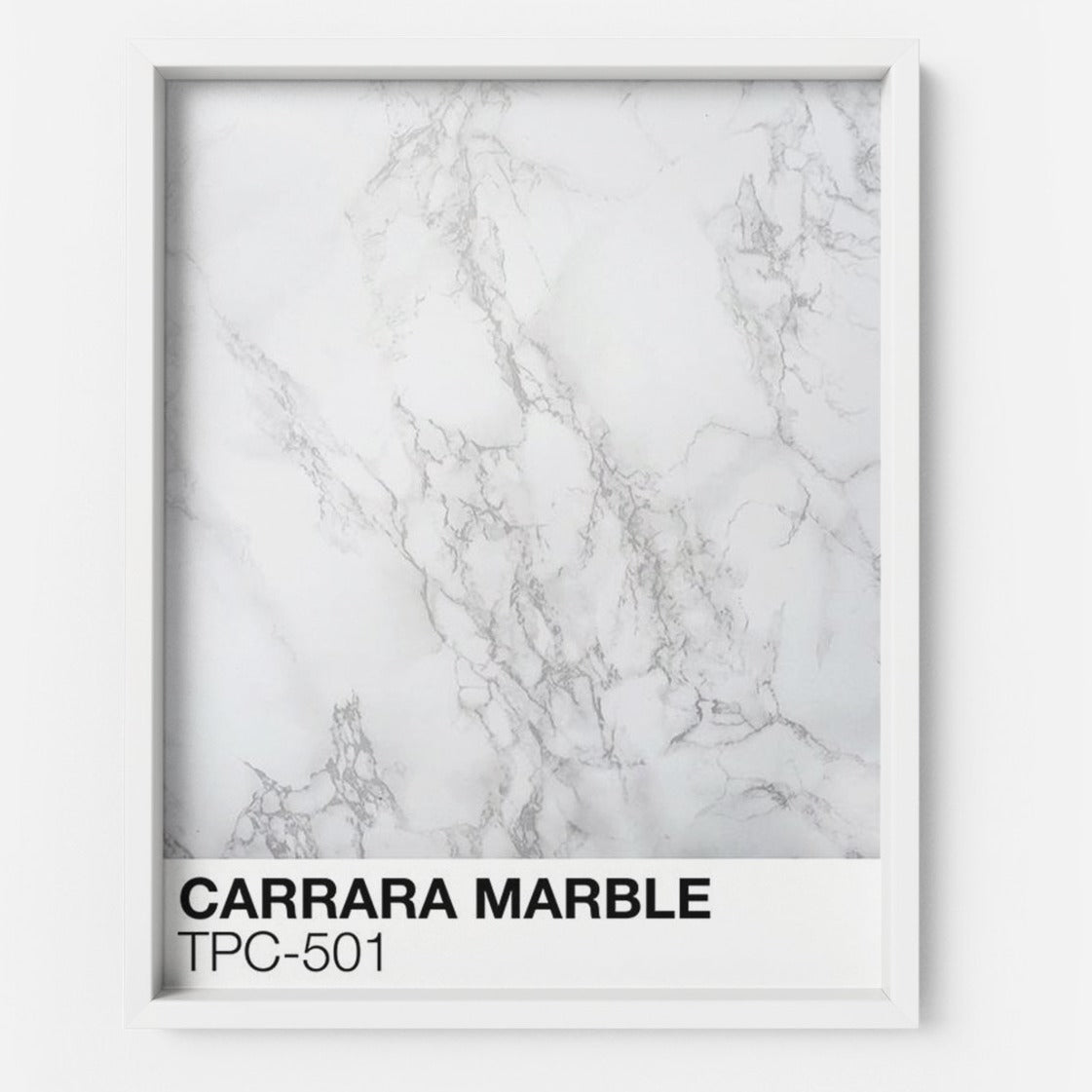 CARRARA MARBLE TPC-501 - THE PRINTABLE CONCEPT - Printable art posterDigital Download -
