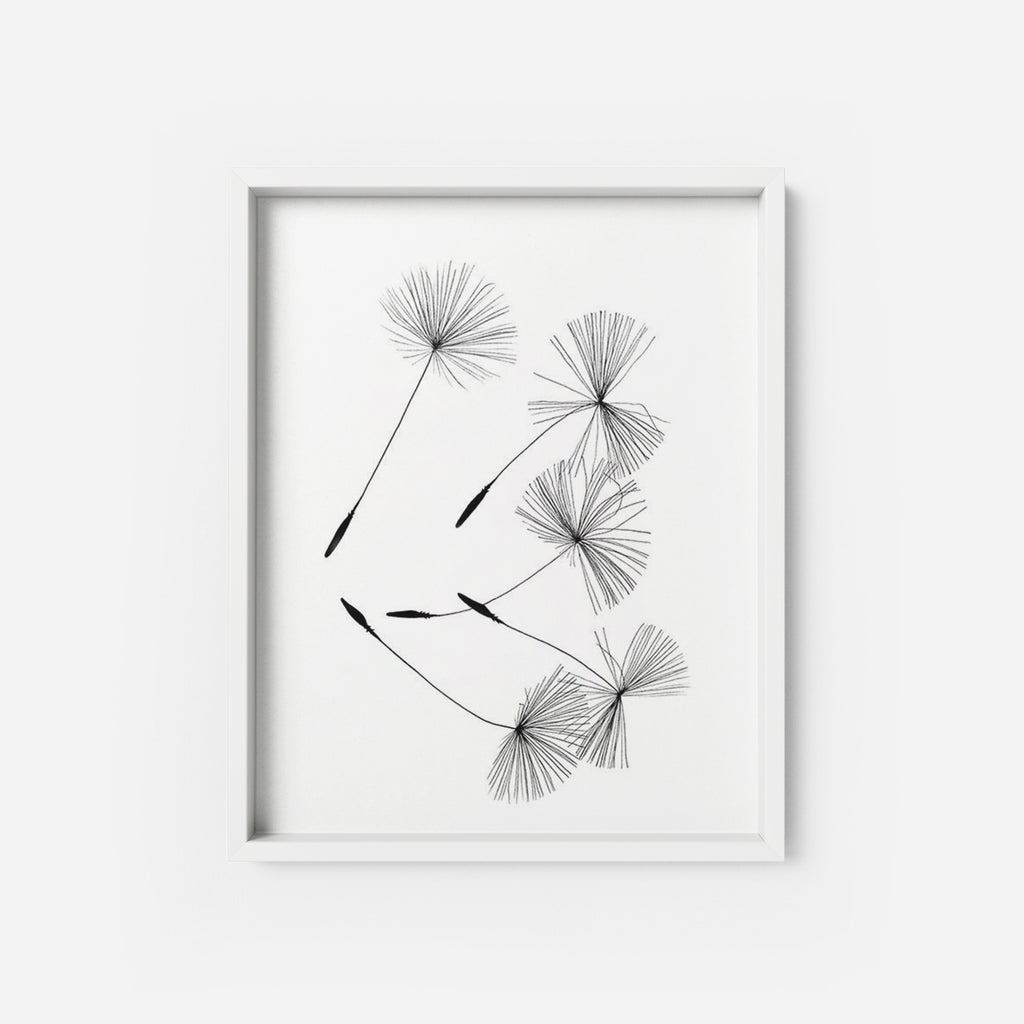 Dandelions - THE PRINTABLE CONCEPT - Printable art posterDigital Download -