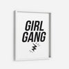 Girl Gang - THE PRINTABLE CONCEPT - Printable art posterDigital Download -
