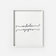 Inhale Exhale - THE PRINTABLE CONCEPT - Printable art posterDigital Download -