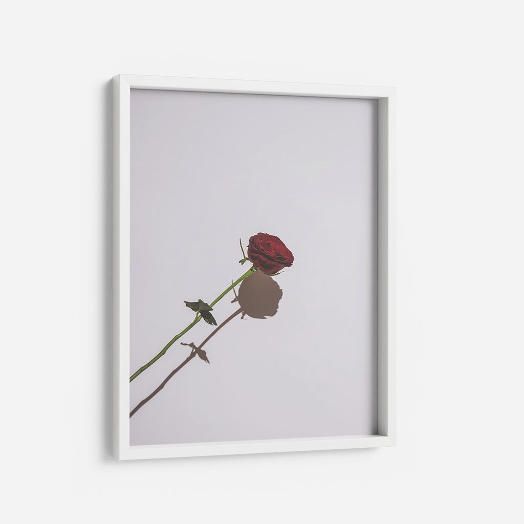 La Rose Rouge - THE PRINTABLE CONCEPT - Printable art posterDigital Download -
