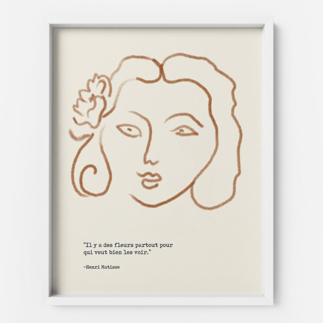 Matisse's Girl - THE PRINTABLE CONCEPT - Printable art posterDigital Download -