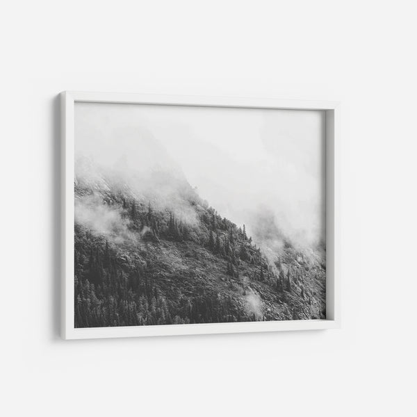 Mountain Fog - THE PRINTABLE CONCEPT - Printable art posterDigital Download -