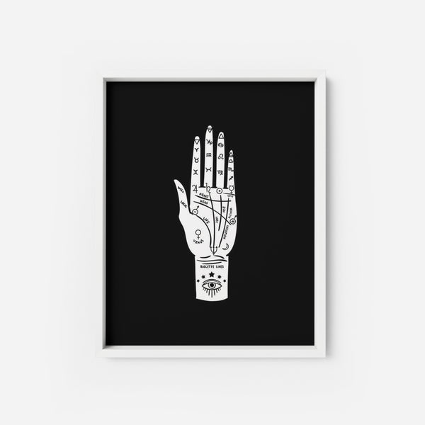 Palmistry 2 - THE PRINTABLE CONCEPT - Printable art posterDigital Download -